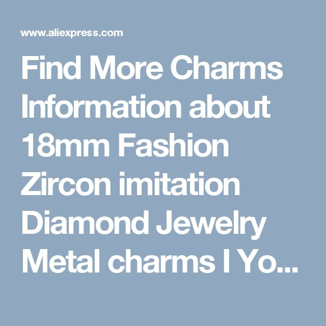 Find More Charms Information about 18mm Fashion Zircon imitation Diamond Jewelry Metal charms I You letter Gold Plated charm Bracelet For Women diy Accessories,High Quality bracelet nba,China bracelet chamilia Suppliers, Cheap jewelry box bracelet from Playful beauty department store on Aliexpress.com