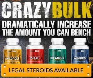 Crazybulk is a muscle building pills alternative that is safe and best legal steroids in the US and UK. Find out more on Best Crazybulk Review.