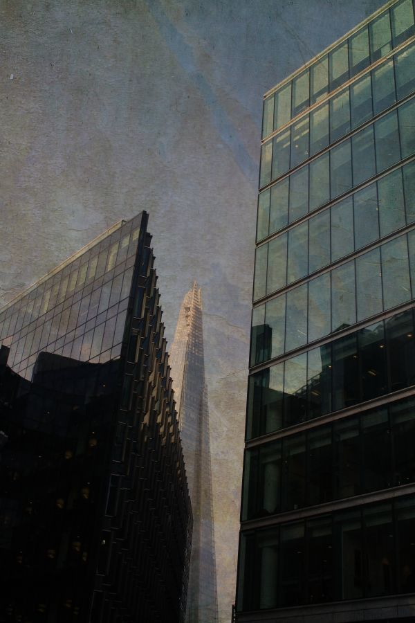 """London - The Shard"" by Ally Coxon on Displate #city #urban #displate #architecture #london #building #photography"