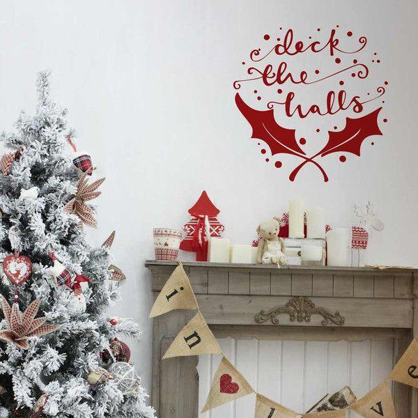 Deck The Halls Christmas Decoration Wall Sticker
