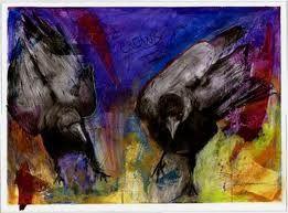 crows in art