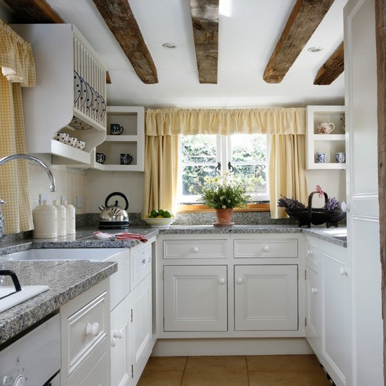 Small Kitchens Can Be Dreamy Too This Looks Like Low Ceiling Which I