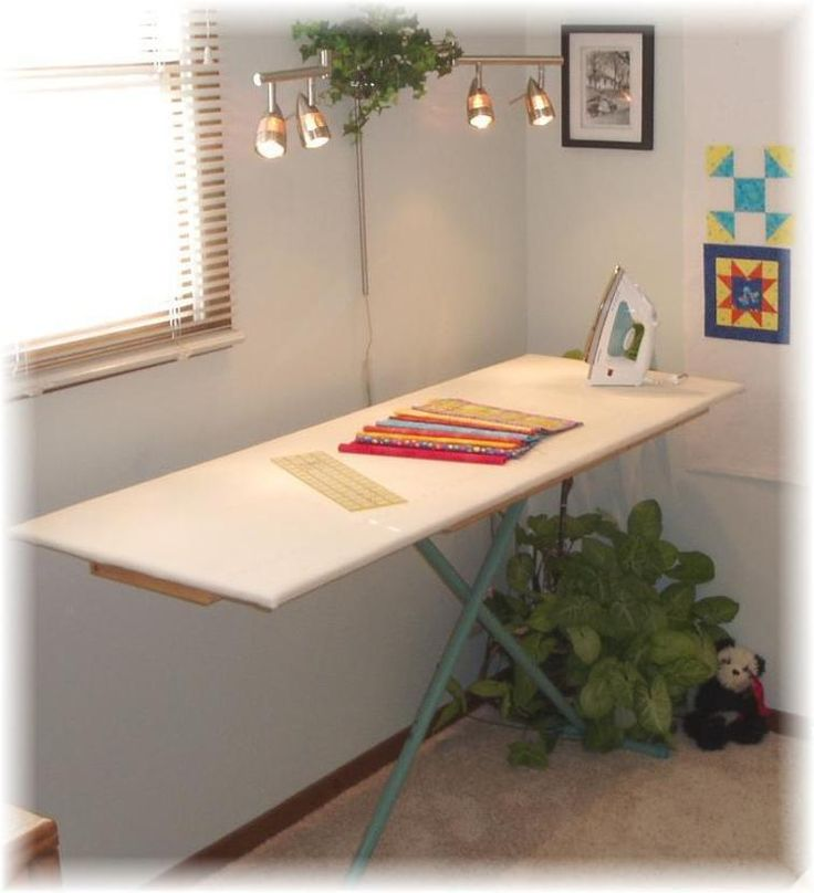 #412 Quilter's Ironing Board & Cover | Craftsy