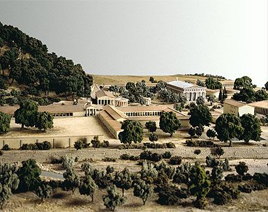 Modern restoration of Olympia