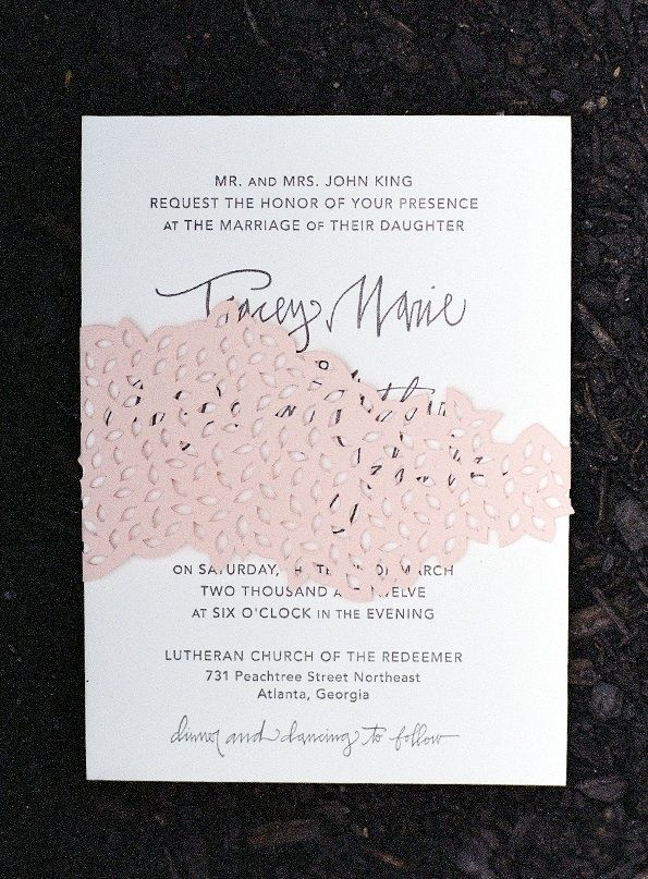 address wedding invitation unmarried couple%0A A Springtime Wedding in the Garden  Once Wed