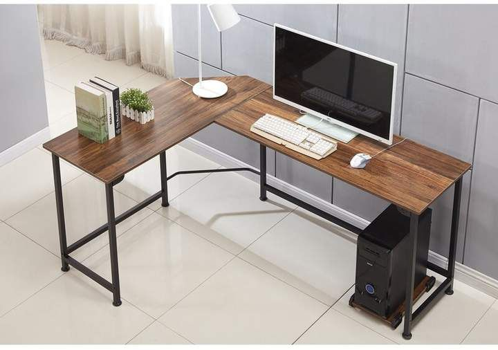Ebern Designs Kowal L Shaped Desk Office Furniture Layout L Shaped Desk Cheap Office Furniture