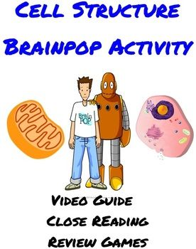 Cell Structures (Organelles) Activity using BrainPOP ...