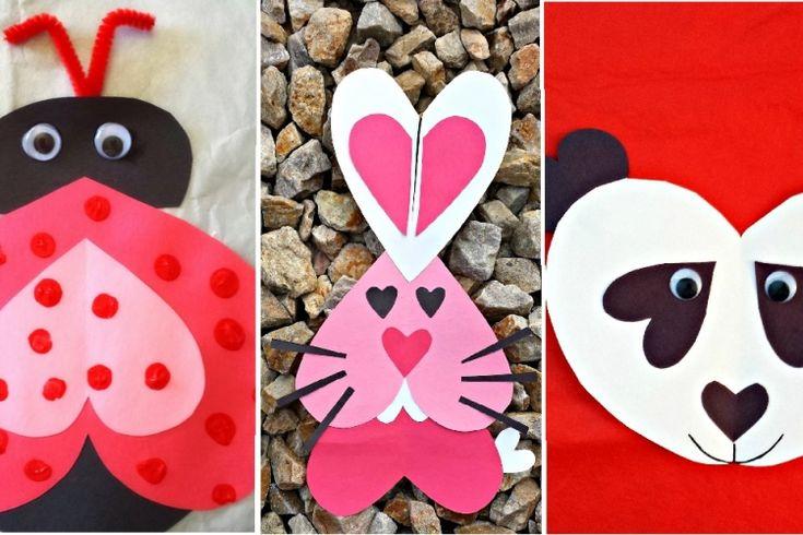 14 bricolages de Saint-Valentin à faire avec les enfants!