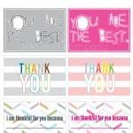 Send a Thank you Card - Free Printable