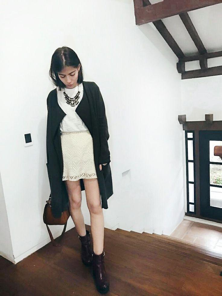 ootd by ThedailyPassarelle  Instagram @angelalzm   #fashion #style #ootd #thedailypassarelle