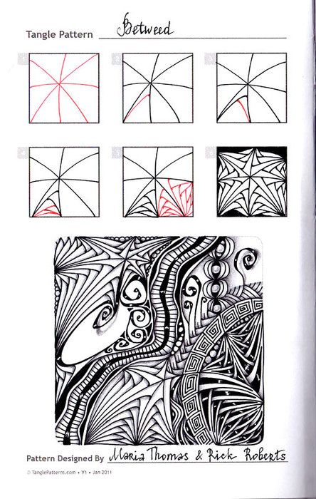 Узор Betweed « Doodling&Zentangle
