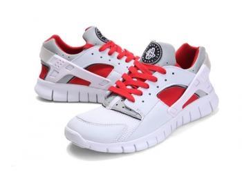 Cheap Nike Huarache Free Mens Run Trainers Size UK 11 LE White / Red Sale UK -Nike Huarache Free