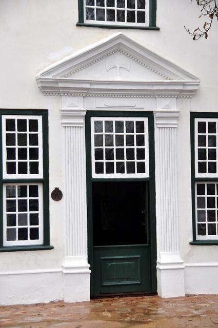 Cape Dutch Doorway