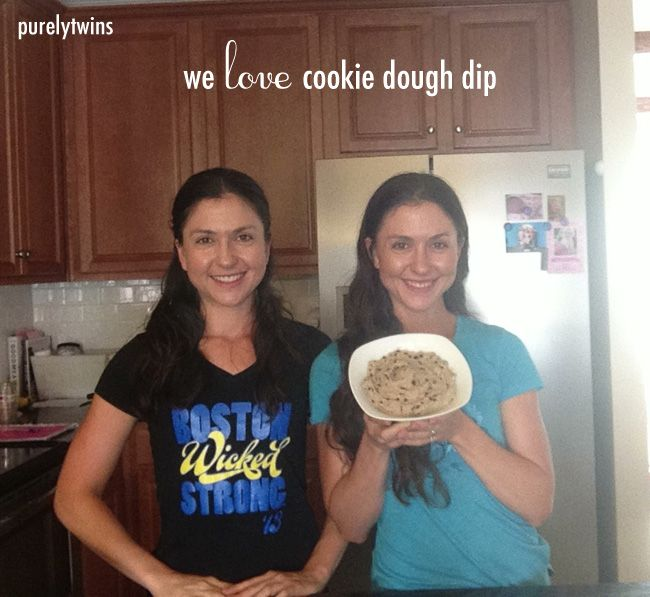 quick 5 minute healthy chocolate chip cookie dough dip #purelytalk ...