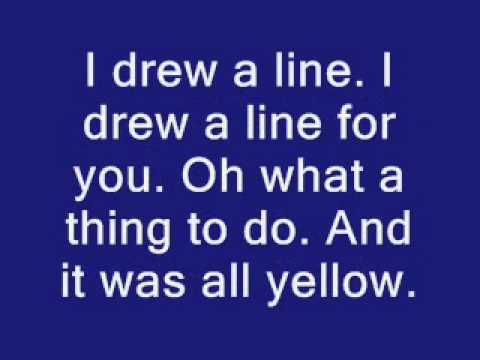 Coldplay - Yellow Lyrics. en D