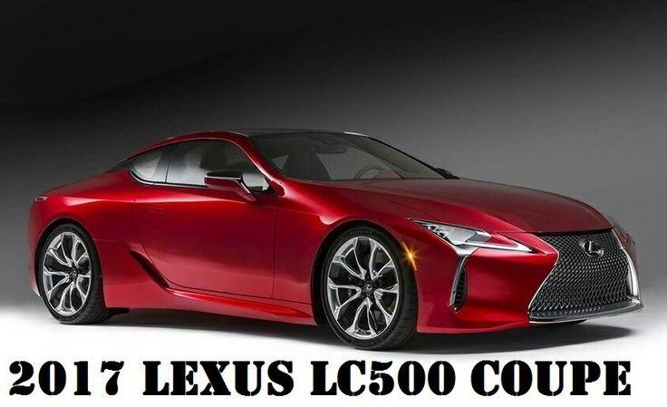 2017 Lexus LC500 COUPE