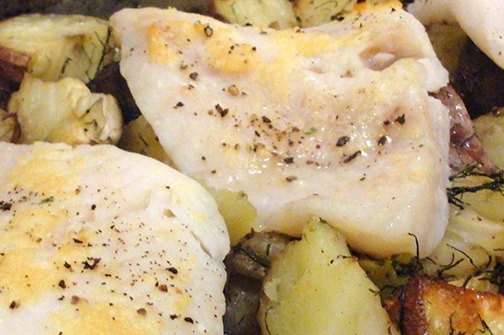 Filetti di pangasio su letto di patate - Meno Trenta Surgelati