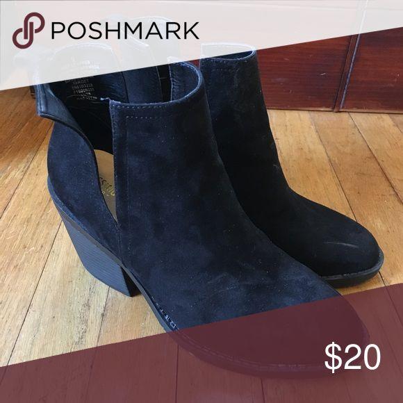 (Target) Black Suede boots