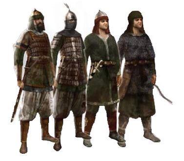 Saracen warriors
