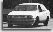 Picture of Taurus test mule with sealed beam headlights - Taurus Car Club of America : Ford Taurus Forum