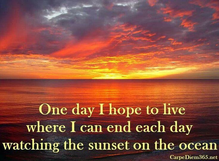 Ocean Sunset Quotes. QuotesGram