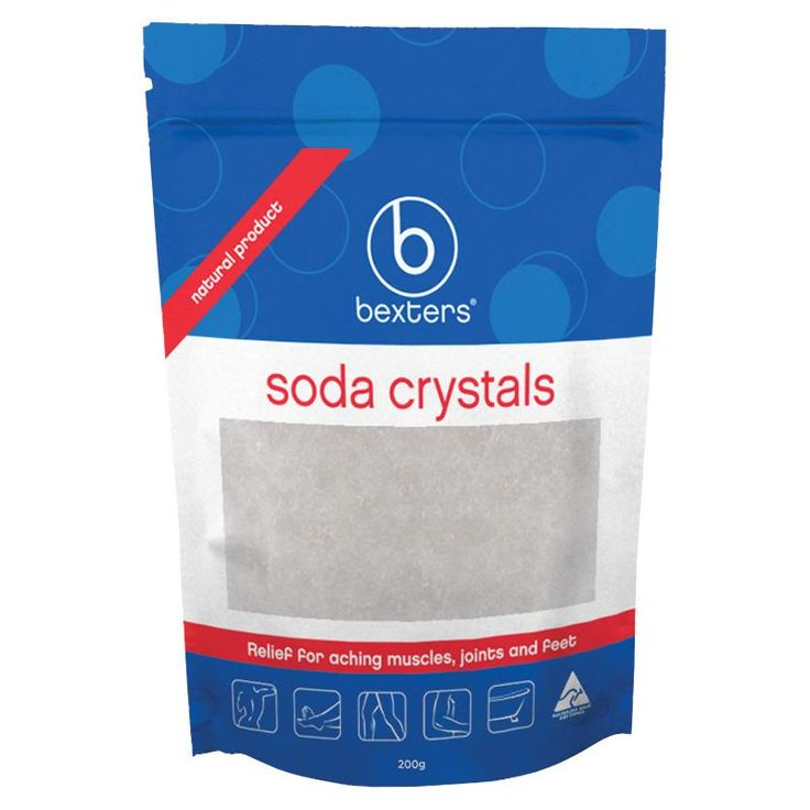 FITNESS Stocking Fillers - Soda Crystals for sport recovery. Soda Crystals are made from natural limestone (sodium carbonate).  Why do people use Soda Crystals?  Draw away fluid from swollen joints. Relief for aching muscles. Rejuvenate after sport & strenuous exercise. To accelerate sports recovery