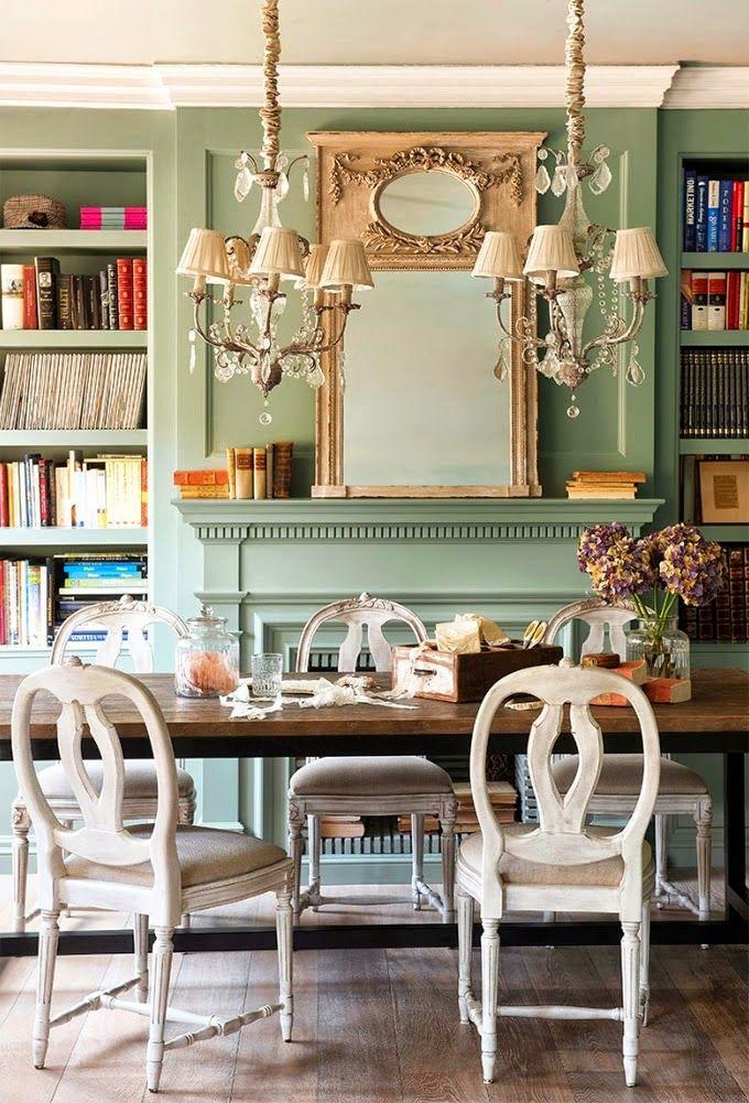Cool Chic Style Fashion: Decor inspiration | Un appartamento in stile francese a Barcellona