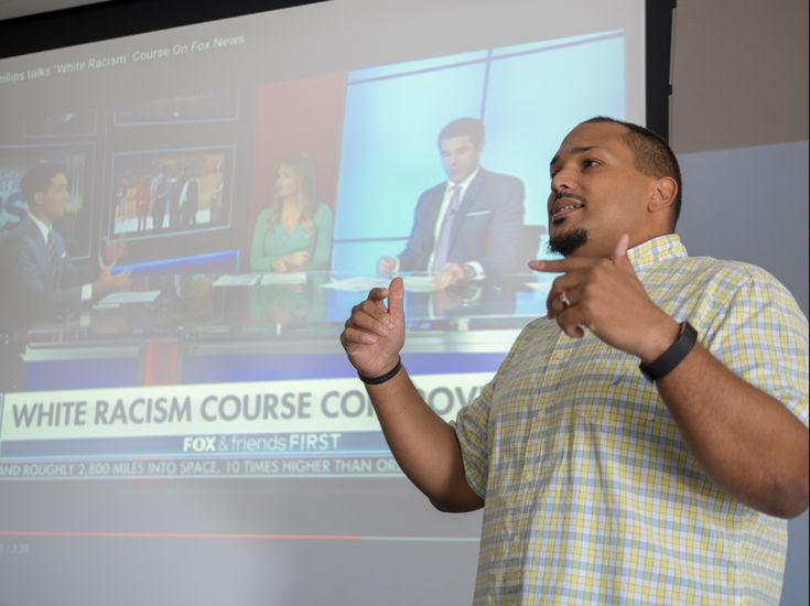 Controversy ignited when a Florida Gulf Coast University professor began teaching a 'white racism' course this year. Ted Thornhill says his course is rooted in a 'damning body' of evidence.