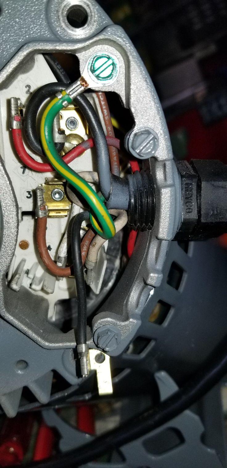 Dayton 1hp motor terminal plate motor dayton repair