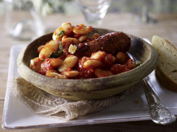 Unser beliebtes Rezept für Cannellini (weiße Bohnen) mit Salsicce und mehr als 55.000 weitere kostenlose Rezepte auf LECKER.de.