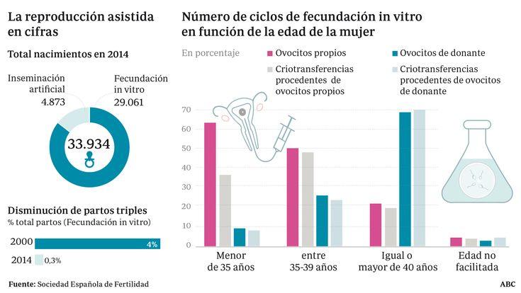 34.000 bebés nacieron en España por técnicas de reproducción asistida
