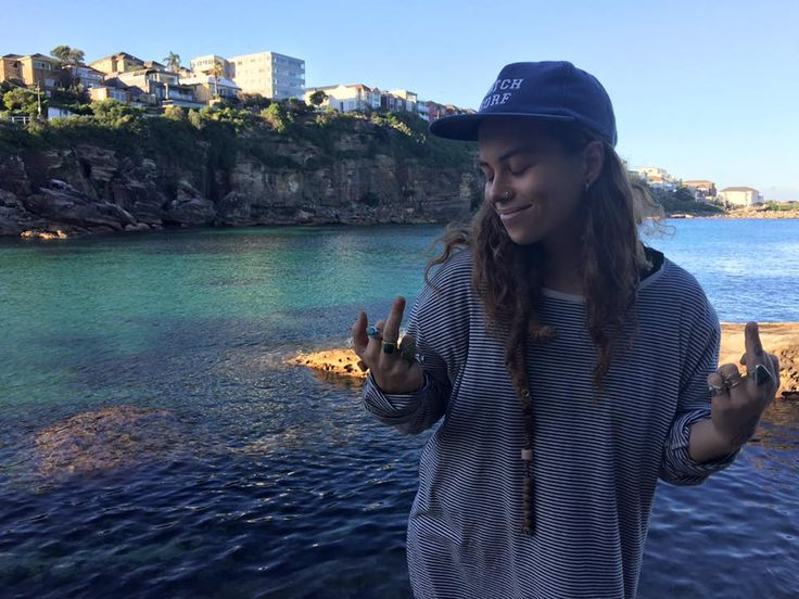 Tash Sultana is an entirely self taught multi instrumentalist  who writes her own music, sings like an angel & is a one woman band.
