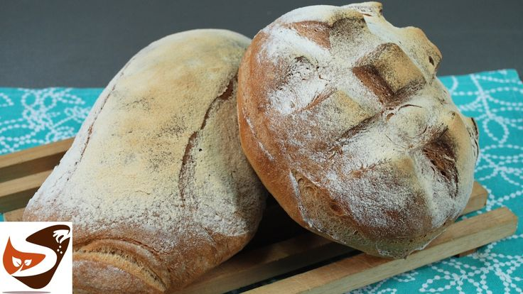 Pane fatto in casa, fragrante, alto, soffice e croccante – Ricette di cu...