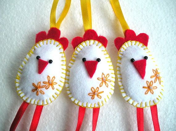 Hey, I found this really awesome Etsy listing at https://www.etsy.com/listing/229414286/felt-birds-ornaments-easter-chickens