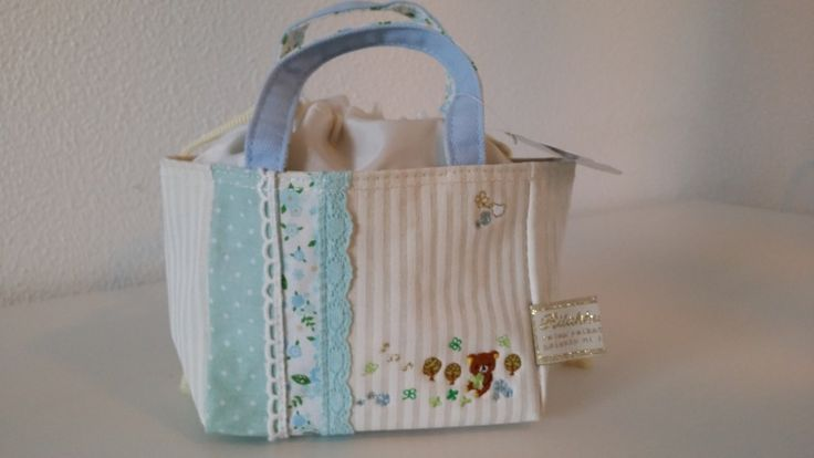 Rilakkuma Cotton serie patchwork mini snackbag met thermofolie