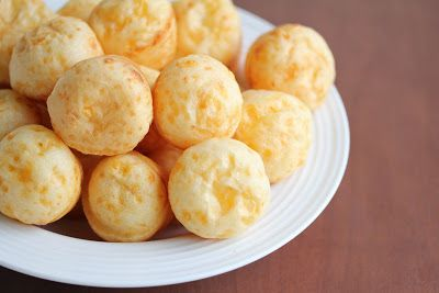 Brazilian cheese puffs | Kirbie's Cravings | A San Diego food blog - easy to make New Cuisines, Thinking Day