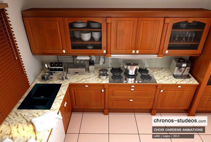 kitchen designs in nigeria 3d visualization by chronos studeos chois gardens lekki 967
