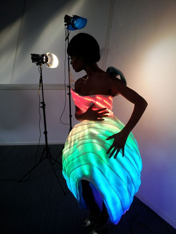 57 best optical fibers on clothes and LEDs images on Pinterest ...