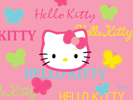 Hello Kitty images, greetings and pictures for Facebook