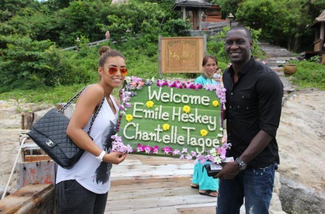 #CelebritySpot Santhiya Koh Phangan Resort & Spa, in Koh Phangan, Thailand welcomes former England football striker Emile Heskey on his honeymoon! Newlyweds Emile Heskey and Chantelle Tagoe thoroughly enjoyed their stay in the resort's top category room, the Santhiya Royal Grand Pool Villa Suite. Congrats! http://www.slh.com/hotels/santhiya-koh-phangan-resort-and-spa/