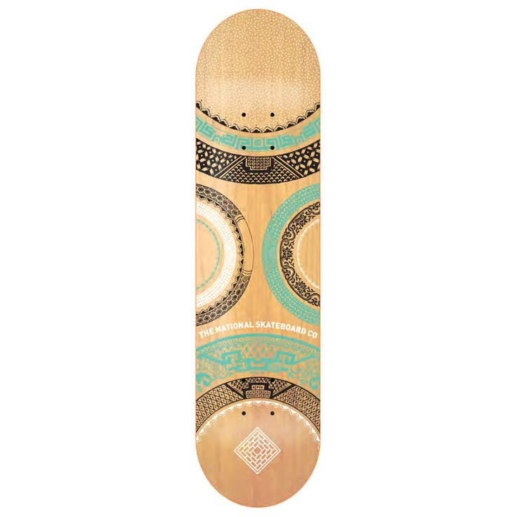 The National Skateboard Co. Halo One Deck