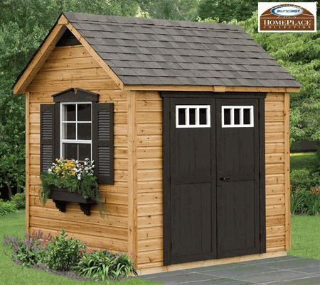 Legacy Cedar Storage Shed Kit 8 X 6 Floor Included
