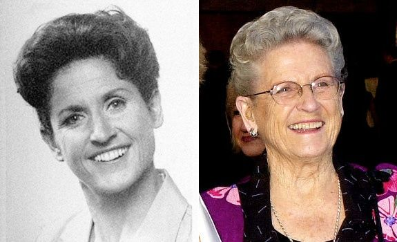 Ann B. Davis (Alice Nelson) -I'm so sad that she has left us. What a terrible way to go. I will miss her. I loved her in The Brady Bunch. Part of my childhood keeps leaving little by little. R.I.P Ann