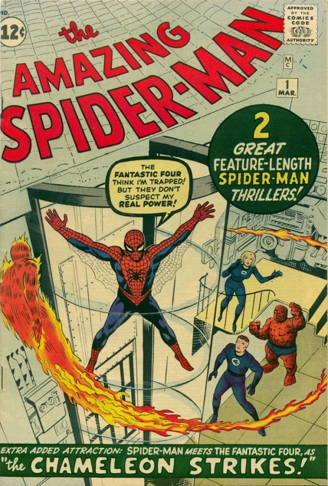 Amazing Spiderman #1 Marzo 1963 - Visit to grab an amazing super hero shirt now on sale!