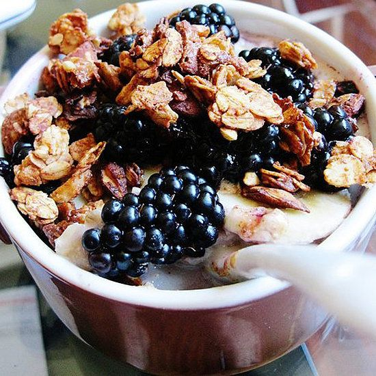 Save on money, sugar, and fat with this healthy granola recipe from