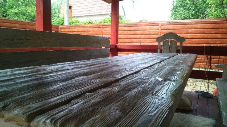 """""""Викинг"""" стол с эффектом старения #shalewood #viking"""