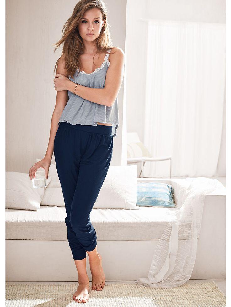 Pantalones de chándal de canalé para dormir - Victoria's Secret