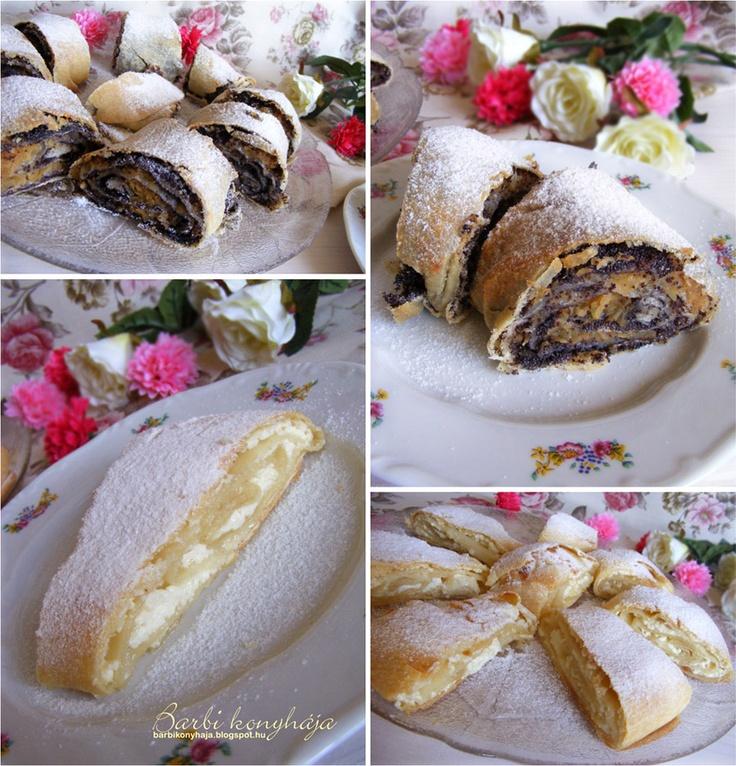 Almás-mákos és túrós rétes Zsanuáriától ♥