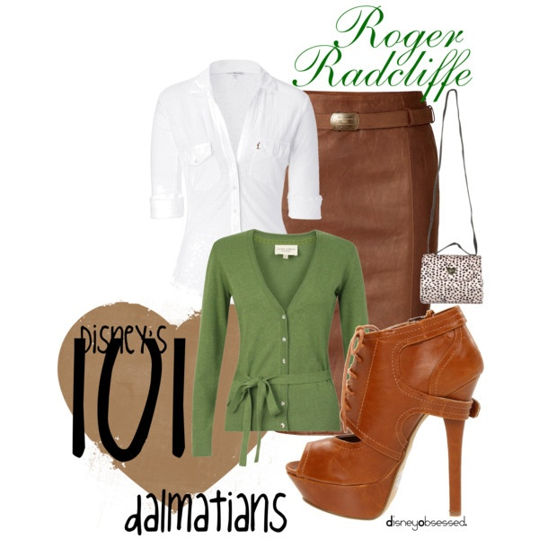 """""""101 Dalmatians: Roger Radcliff"""" by disneyobsessed on Polyvore"""