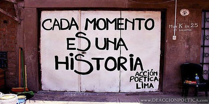 "Acción Poética Lima Archives - ""Every moment is a story."""